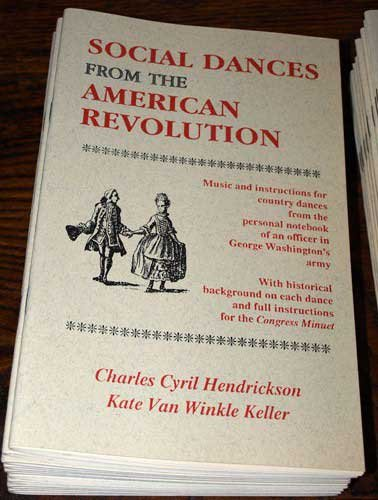 9781877984150: Social dances from the American Revolution