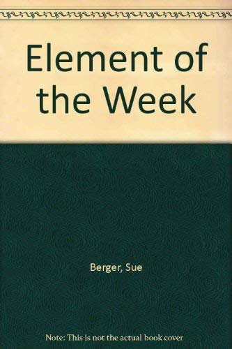 9781877991004: Element of the Week