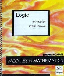 9781878015198: Logic (Modules in Mathematics)