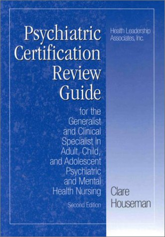9781878028198 Psychiatric Certification Review Guide For The