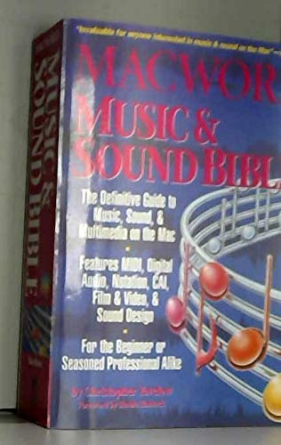 9781878058188: Macworld Music and Sound Bible (English and Japanese Edition)