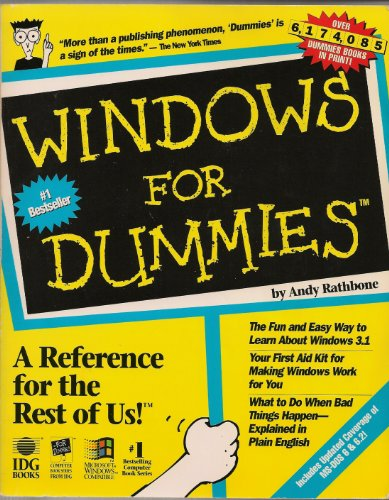 Windows for Dummies: Rathbone, Andy