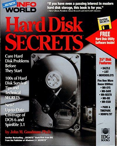 9781878058645: Hard Disk Secrets (Infoworld Secrets/Book and Disk)