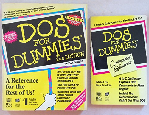 9781878058751: DOS for Dummies