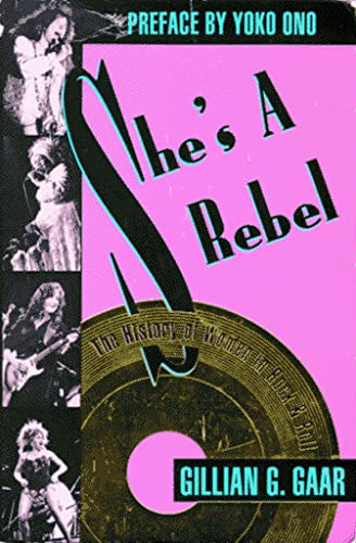 9781878067081: DEL-She's a Rebel: The History of Women in Rock and Roll