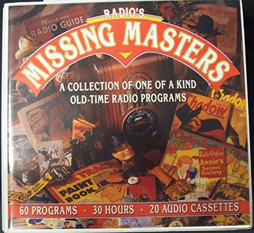 9781878078360: Radio's Missing Masters