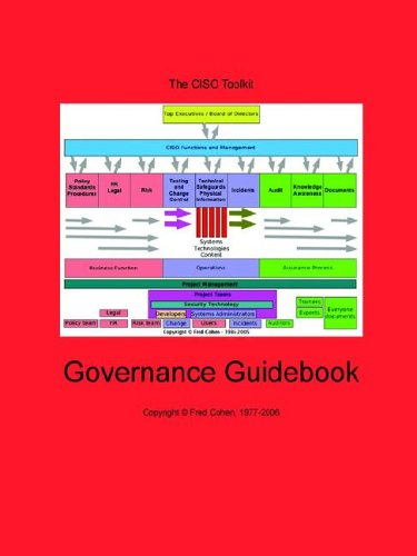 9781878109347: The Chief Information Security Officer's Toolkit: Governance Guidebook
