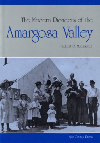 9781878138583: The Modern Pioneers of the Amargosa Valley
