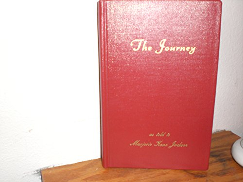 9781878162304: The Journey As Told to Marjorie Kann Jackson