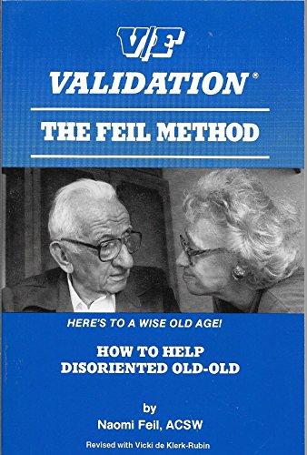9781878169006: Validation: Feil Method
