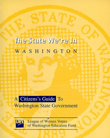 9781878170040: The State We're In: Washington