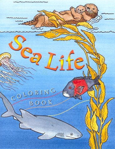 9781878244130: Sea Life Coloring Book