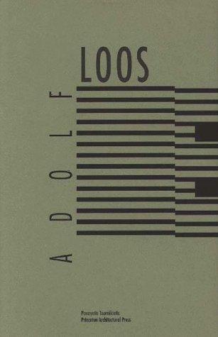 9781878271808: Adolf Loos: Panayotis Tournikiotis