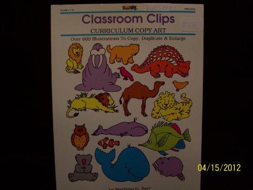 9781878279217: Classroom Clips. Curriculum Copy Art
