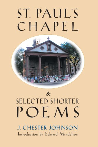 9781878282613: St. Paul's Chapel & Selected Shorter Poems