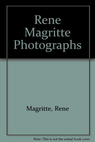 9781878283078: Rene Magritte Photographs