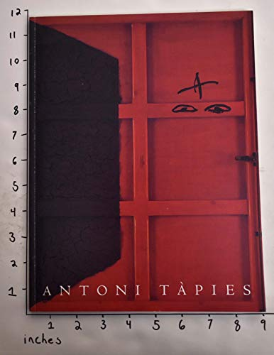 Antoni Tapies, New Paintings: November 30, 1995-January 13, 1996: Antoni Tapies
