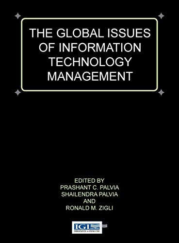 Global Issues of Information Technology Management (Global: Shailendra Palvia