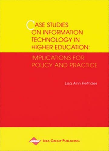 9781878289742: Cases Studies on Information Technology in Higher Education: Implications for Policy and Practice
