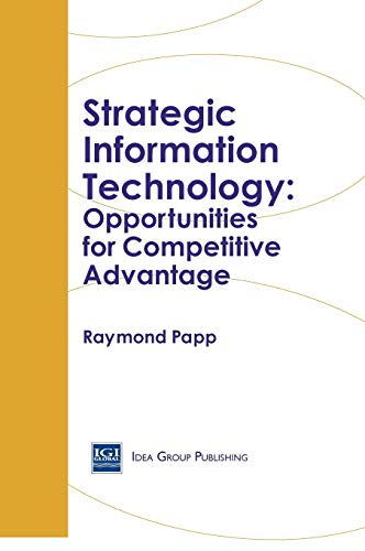 9781878289872: Strategic Information Technology: Opportunities for Competitive Advantage