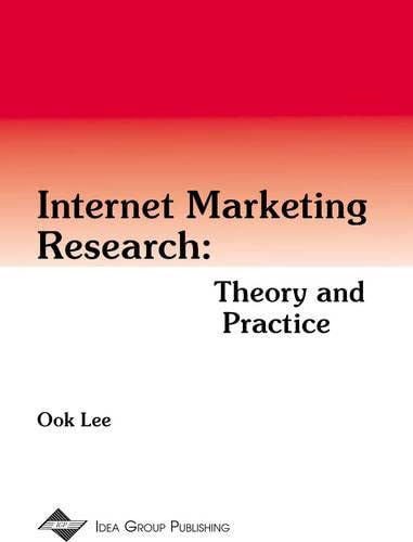 9781878289971: Internet Marketing Research: Theory and Practice