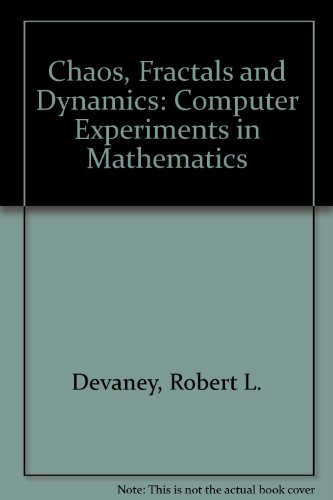9781878310095: Chaos, Fractals and Dynamics: Computer Experiments in Mathematics