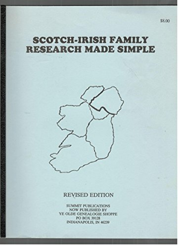 9781878311146: Scotch-Irish Family Research Made Simple