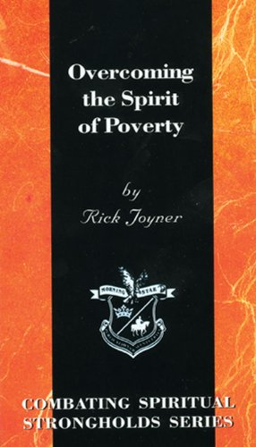 9781878327550: Overcoming the Spirit of Poverty (Combating Spiritual Strongholds Series)