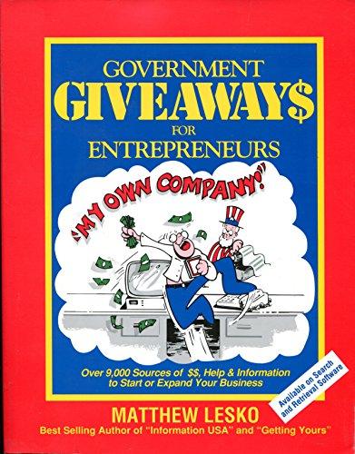 9781878346018: Government giveaways for entrepreneurs