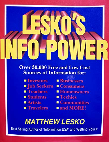 Lesko's Info-Power (1878346024) by Lesko, Matthew