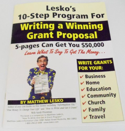 9781878346667: How to Write And Get a Grant