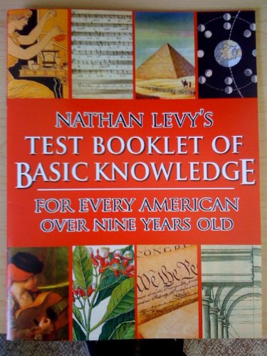 9781878347602: Nathan Levy's Test Booklet of Basic Knowledge