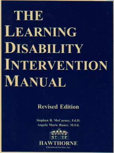 9781878372079: The Learning Disability Intervention Manual (00320)