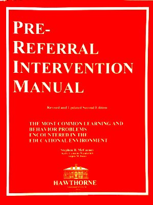 Pre-Referral Intervention Manual Second Edition