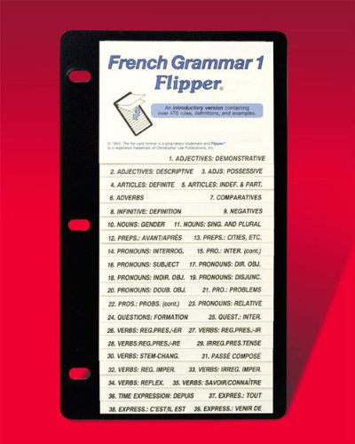 French Grammar 1: Christopher Lee Publications