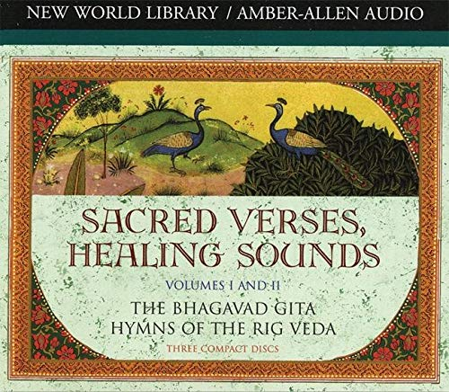 9781878424785: Sacred Verses, Healing Sounds, Volumes I and II: The Bhagavad Gita, Hymns of the Rig Veda (Chopra, Deepak)