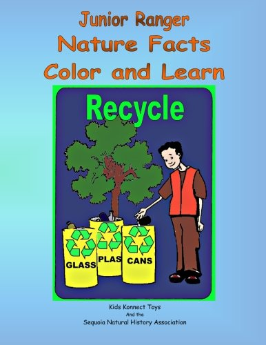 9781878441362: Junior Ranger Nature Facts Color and Learn