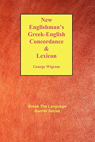 9781878442499: New Englishman's Greek-English Concordance with Lexicon (Break the Language Barrier)