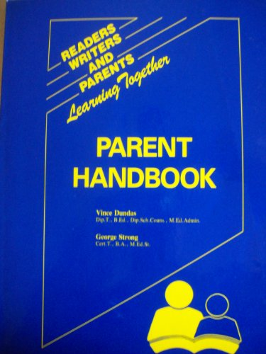 9781878450111: Parent Handbook: Readers, Writers, and Parents Learning Together
