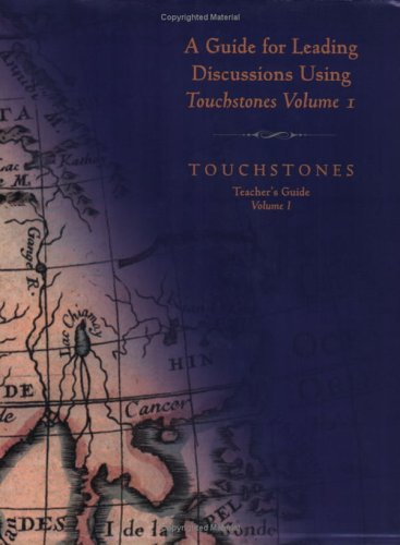 9781878461001: Guide for Leading Discussions Using Touchstones