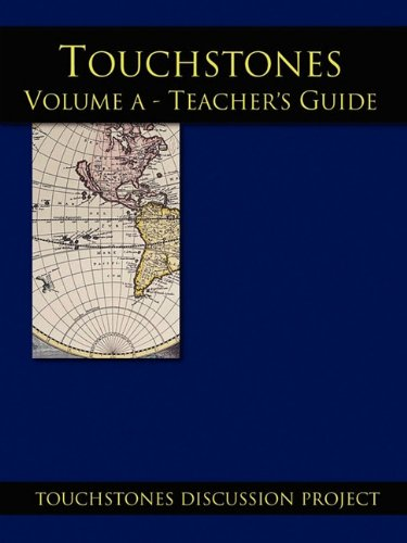 Touchstones Volume A Teachers Guide (9781878461865) by Howard Zeiderman