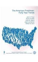 The American Freshman: Forty Year Trends