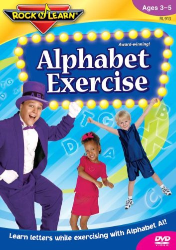 9781878489135: Alphabet Exercise: Learn Letters While Exercising With Alphabet Al! (Rock 'n Learn)