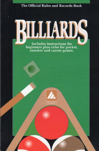 9781878493033: Billairds the Official Rules and Records Book 1993