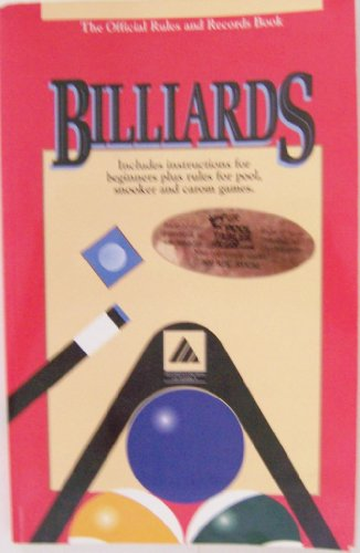 9781878493040: Billiards the Official Rules & Records Book 1994