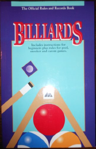 9781878493057: Billiards the Official Rules & Records Book 1995