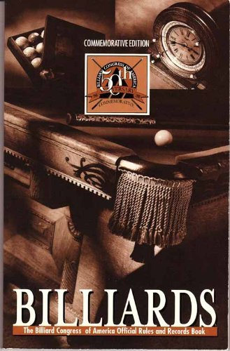 Billiards: The Official Rules & Records Book