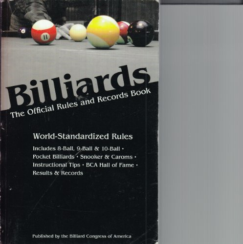 9781878493194: Billiards 2011: The Official Rules & Records Book (Billiards : the Official Rules and Records Book)