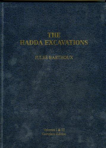 The Hadda Excavations Volume I Stupa & Sites (text & drawings) & Volume III Figures &...