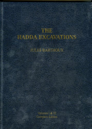 The Excavations of Hadda (Memiors of the French Archaeological Delegation in Afghanistan): Barthoux...